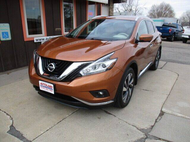 2016 Nissan Murano for sale at Autoland in Cedar Rapids IA