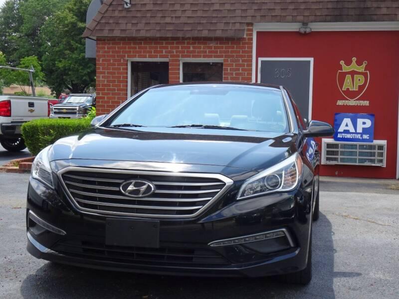 2015 Hyundai Sonata for sale at AP Automotive in Cary NC