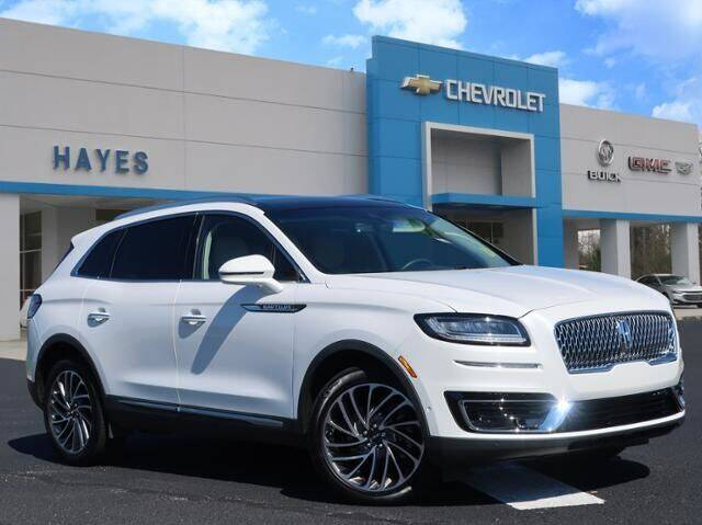 2020 Lincoln Nautilus for sale at HAYES CHEVROLET Buick GMC Cadillac Inc in Alto GA