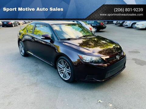 2011 Scion tC for sale at Sport Motive Auto Sales in Seattle WA