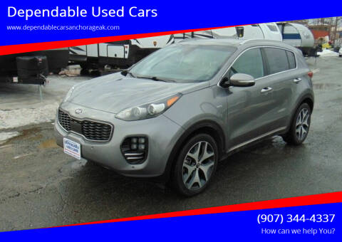 2017 Kia Sportage for sale at Dependable Used Cars in Anchorage AK