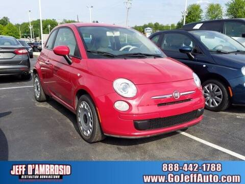 2012 FIAT 500 for sale at Jeff D'Ambrosio Auto Group in Downingtown PA