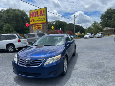 2010 Toyota Camry for sale at No Full Coverage Auto Sales in Austell GA