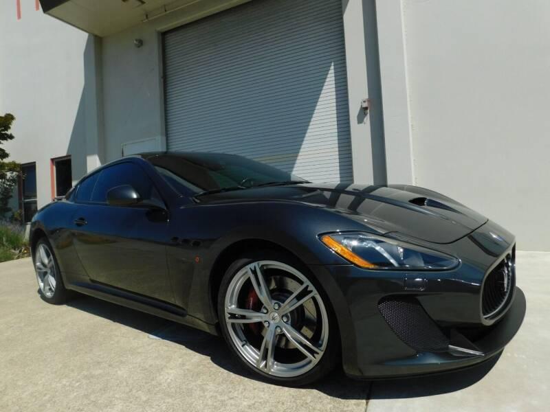 2017 Maserati GranTurismo for sale at Conti Auto Sales Inc in Burlingame CA