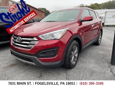 2014 Hyundai Santa Fe Sport for sale at Strohl Automotive Services in Fogelsville PA