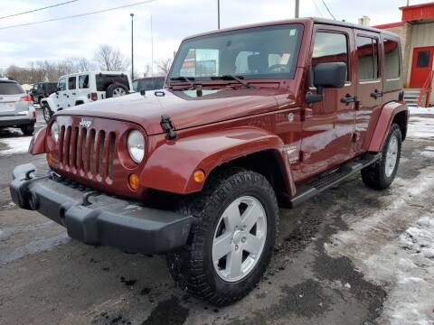 2007 Jeep Wrangler Unlimited for sale at Drive Motor Sales in Ionia MI