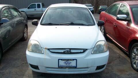 2003 Kia Rio for sale at Griffon Auto Sales Inc in Lakemoor IL