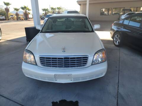 2002 Cadillac DeVille for sale at Carzz Motor Sports in Fountain Hills AZ