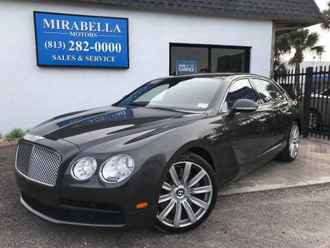 2015 Bentley Flying Spur for sale at Mirabella Motors in Tampa FL