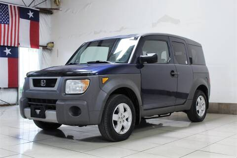 2003 Honda Element for sale at ROADSTERS AUTO in Houston TX