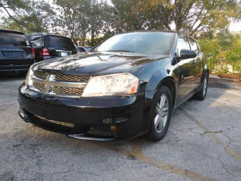 2012 Dodge Avenger for sale at Auto World US Corp in Plantation FL