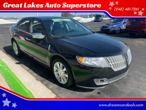 2012 Lincoln MKZ for sale at Great Lakes Auto Superstore in Pontiac MI