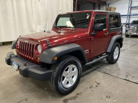 2012 Jeep Wrangler for sale at Waconia Auto Detail in Waconia MN