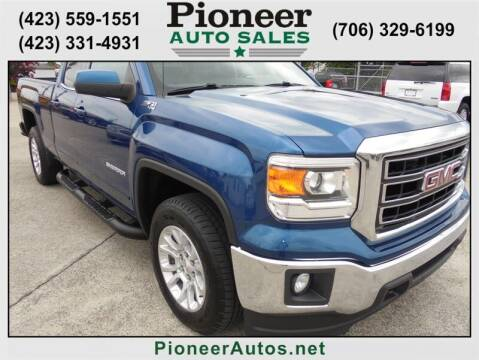 2015 GMC Sierra 1500 for sale at PIONEER AUTO SALES LLC in Cleveland TN