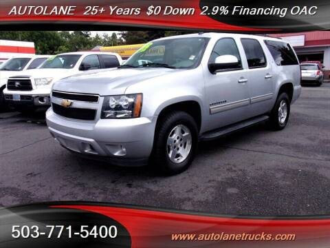 2013 Chevrolet Suburban for sale at Auto Lane in Portland OR