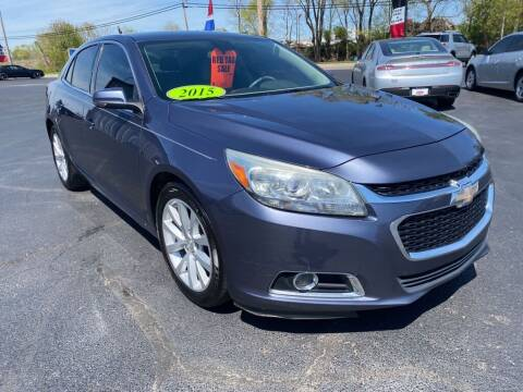 2015 Chevrolet Malibu for sale at Used Car Factory Sales & Service Troy in Troy OH