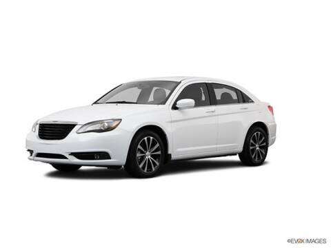 2013 Chrysler 200 for sale at FREDYS CARS FOR LESS in Houston TX