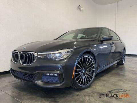 2017 BMW 7 Series for sale at BLACK LABEL AUTO FIRM in Riverside CA