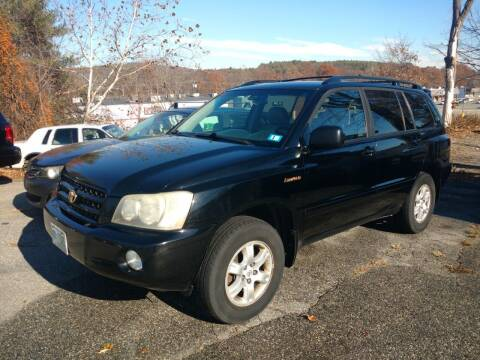 2003 Toyota Highlander for sale at Auto Brokers of Milford in Milford NH