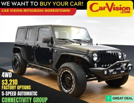 2016 Jeep Wrangler Unlimited for sale at Car Vision Mitsubishi Norristown in Norristown PA