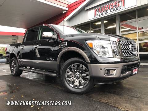 2017 Nissan Titan for sale at Furrst Class Cars LLC  - Independence Blvd. in Charlotte NC