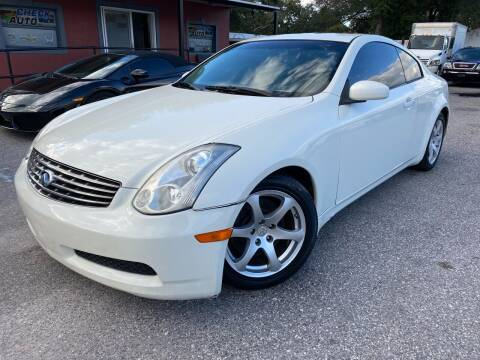 2007 Infiniti G35 for sale at CHECK  AUTO INC. in Tampa FL