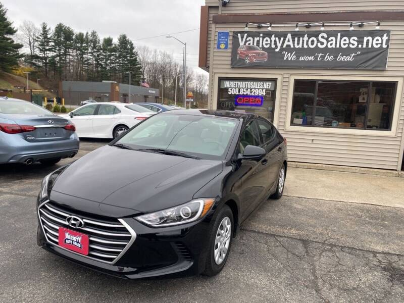 2018 Hyundai Elantra for sale at Variety Auto Sales in Worcester MA