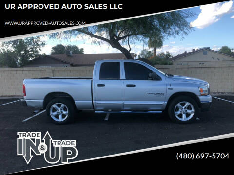 2006 Dodge Ram Pickup 1500 for sale at UR APPROVED AUTO SALES LLC in Tempe AZ
