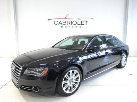 2014 Audi A8 L for sale at Cabriolet Motors in Morrisville NC