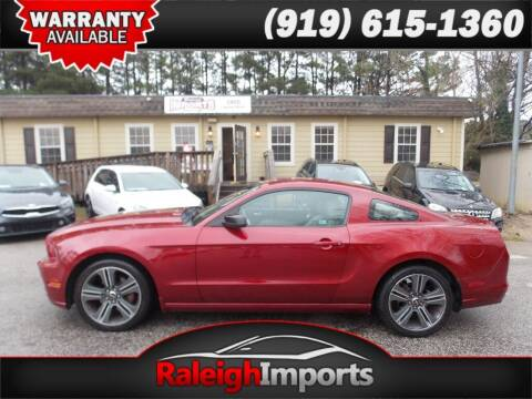 2014 Ford Mustang for sale at Raleigh Imports in Raleigh NC