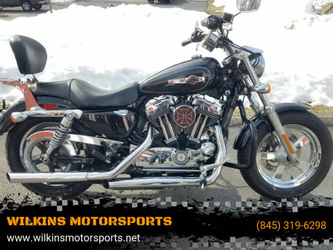 2014 Harley-Davidson Sportster 1200 for sale at WILKINS MOTORSPORTS in Brewster NY