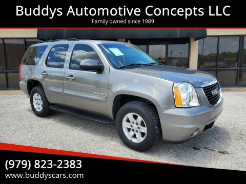 2007 GMC Yukon for sale at Buddys Automotive Concepts LLC in Bryan TX