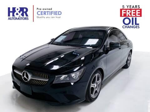2014 Mercedes-Benz CLA for sale at H&R Auto Motors in San Antonio TX