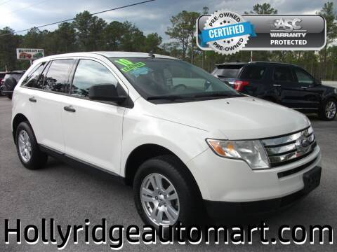 2010 Ford Edge for sale at Holly Ridge Auto Mart in Holly Ridge NC