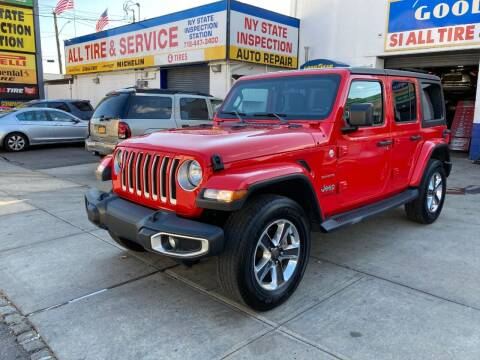 2019 Jeep Wrangler Unlimited for sale at US Auto Network in Staten Island NY