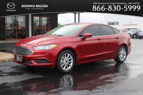 2017 Ford Fusion for sale at Bening Mazda in Cape Girardeau MO