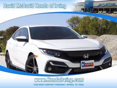 2021 Honda Civic for sale at DAVID McDAVID HONDA OF IRVING in Irving TX