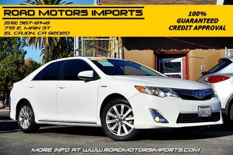 2012 Toyota Camry Hybrid for sale at Road Motors Imports in El Cajon CA