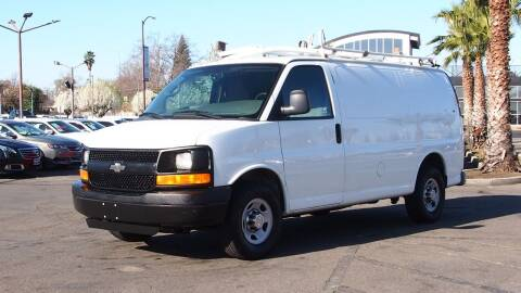 2013 Chevrolet Express Cargo for sale at Okaidi Auto Sales in Sacramento CA
