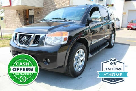 2013 Nissan Armada for sale at K & L Auto Sales in Saint Paul MN