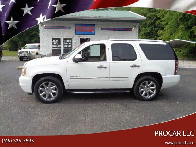 2013 GMC Yukon for sale at PROCAR LLC in Portland TN