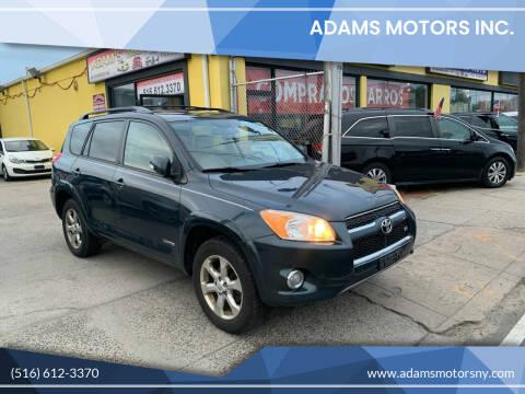 2009 Toyota RAV4 for sale at Adams Motors INC. in Inwood NY