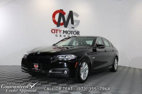 2016 BMW 5 Series for sale at City Motor Group, Inc. in Wanaque NJ