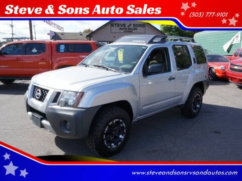 2012 Nissan Xterra for sale at Steve & Sons Auto Sales in Happy Valley OR