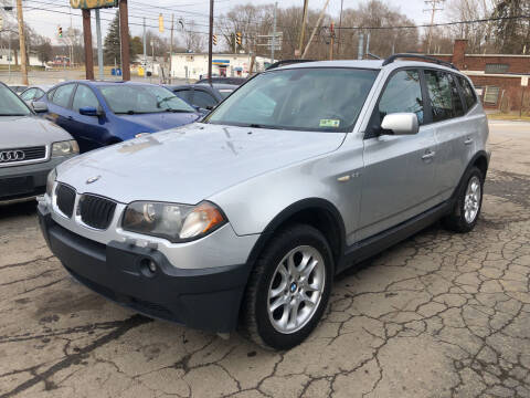 2005 BMW X3 for sale at Six Brothers Auto Sales in Youngstown OH