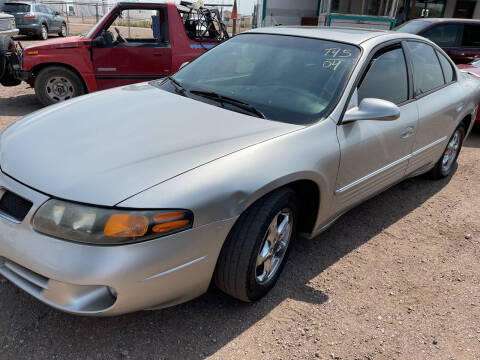 2004 Pontiac Bonneville for sale at PYRAMID MOTORS - Fountain Lot in Fountain CO