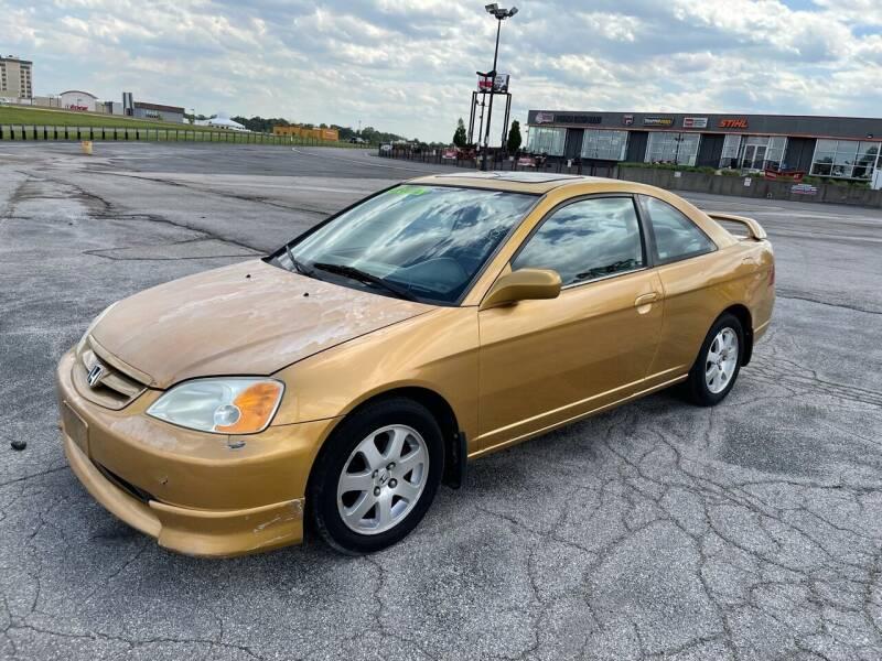 2001 Honda Civic for sale at CHAD AUTO SALES in Bridgeton MO