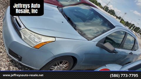 2009 Ford Focus for sale at Jeffreys Auto Resale, Inc in Clinton Township MI