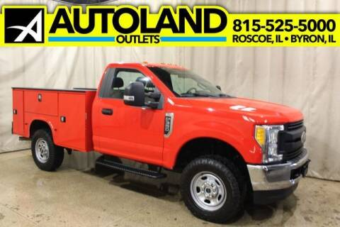 2017 Ford F-350 Super Duty for sale at AutoLand Outlets Inc in Roscoe IL