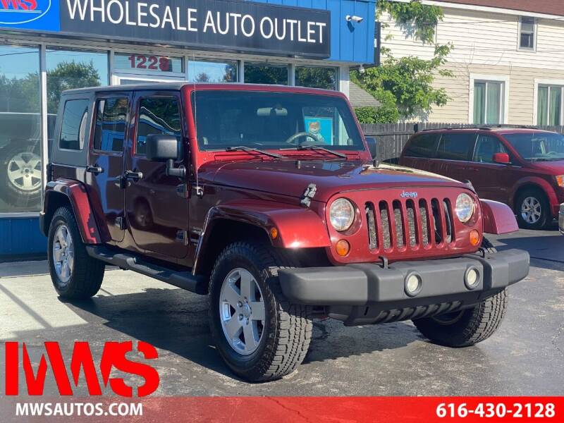 2007 Jeep Wrangler Unlimited for sale at MWS Wholesale  Auto Outlet in Grand Rapids MI